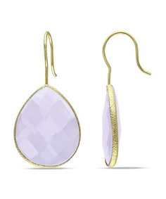 This Gold & Rose de France Earrings is perfect! #zulilyfinds
