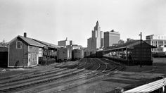 Providence, Rhode Island, 1952 Freight yard at Providence, Rhode Island, in 1952. Photograph by Leo King, © 2016, Center for…