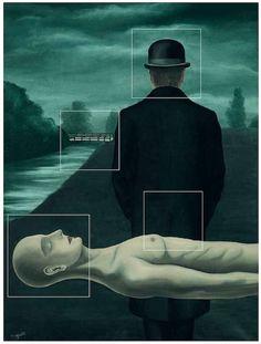 4/9 Het werk en leven van René Magritte in vijftig beelden. '67 - '17