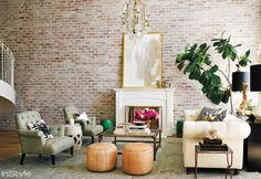 #Cozy #Livingroom #Style #Fireplace