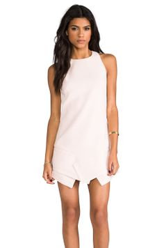 Finders Keepers Like Smoke Dress in Blush from REVOLVEclothing