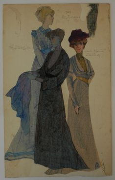 Mabi Helweg, costumes for A Doll's House, Ibsen.