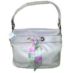 Coach Soft Leather Handbag - Kyra Parchment Ivory White Hobo Bag 13557 (Apparel)