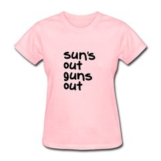 """Sun's Out, Gun's Out"" from amazon.com please Click: https://www.amazon.com/s?marketplaceID=ATVPDKIKX0DER&me=A2CUC3RS6QYLHU&merchant=A2CUC3RS6QYLHU&redirect=true"