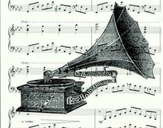 Popular items for antique phonograph on Etsy