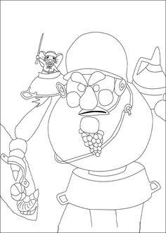 Dibujos para Colorear El valiente Despereaux 8