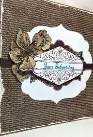 """Birthday Card for a man - """"Everything Eleanor"""", """"Sommermorgen"""" and """"In Worte gefasst"""" Stampin' Up!"""