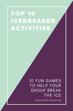 Looking for the perfect icebreaker for your group? Here's our top 10 favorite games to break the ice! Icebreaker Activities, Activities For Girls, Leadership Activities, Icebreakers, Team Builders, Ice Breaker Games, Girl Scout Troop, 10 Year Old, Life Skills