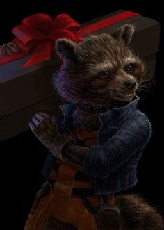 rocket raccoon, Ray Maverick on ArtStation at https://www.artstation.com/artwork/rocket-raccoon-15a6e29b-d851-499b-b4ed-0685c318e24a