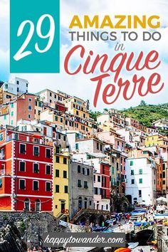 An incredible roundup of the best things to do in Cinque Terre, Italy ft. Cool Places To Visit, Places To Travel, Travel Destinations, European Destination, European Travel, Europe Beaches, Italy Travel Tips, Travel Europe, Villefranche Sur Mer