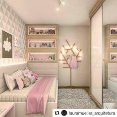 #Repost @lauramueller_arquitetura (@get_repost) ・・・ Mais uma vista deste quartinho! #decor #quartodemenina #decorations#interiordesigner #interiors #interiores #decoration#homedecor #homedecoration #ambientacion#ambientação #decoração #amazing #projeto#arquitetura #design #arquitectura #instadecor#house #home #arquiteturabrasileira#designdeinteriores #bedroom #furniture #quarto#quartosolteiro