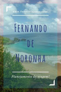 Planejamento de viagem para Fernando de Noronha