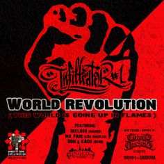 Infiltrator#1 - World Revolution feat. Recluso, Mr. Fade, Don & Kaos  #undergroundrap