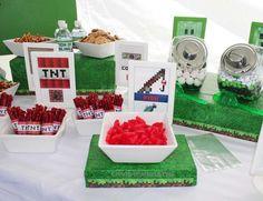 Minecraft Birthday Party Ideas | Photo 6 of 27 | Catch My Party