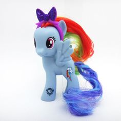 "Hasbro My Little Pony 9cm 3.5"" Figure Cutie Mark Magic Friends Asst Rainbow Dash #Hasbro"
