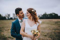 Voici un mariage au thème champêtre, les mariés se sont dits OUI dans l'Ariège. Un beau jour qui je l'espère sera pour vous une belle source d'inspiration.
