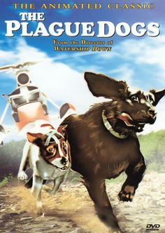Like Watership Down, Plague Dogs is an animated cartoon feature based on a novel by Richard Adams and produced by Martin Rosen. Description from mrqe.com. I searched for this on bing.com/images