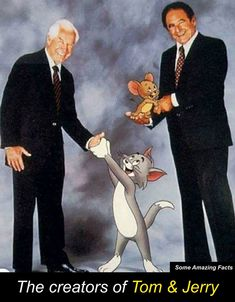 The Creators of Tom & Jerry. Some Amazing Facts, Hanna Barbera, Tom And Jerry, Looney Tunes, Fun Facts, The Creator, Animation, Painting, Fictional Characters
