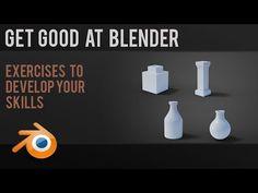 Improve your Blender skills | beginner exercises