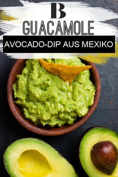 Guacamole - der Avocado-Dip aus Mexiko - Famous Last Words Keto Guacamole Recipe, Authentic Guacamole Recipe, Avocado Guacamole, Homemade Guacamole, Avocado Recipes, Keto Avocado, Mexican Food Recipes, Real Food Recipes, Take A Meal