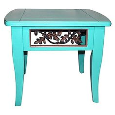 1980s Painted End Table #huntersalley