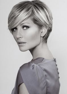 Pixie haircut is not always th
