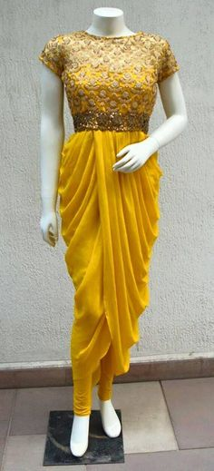 17 ideas indian bridal lehenga yellow for 2019 Dress Indian Style, Indian Dresses, Indian Wedding Outfits, Indian Outfits, Indian Weddings, Indian Attire, Indian Wear, Indian Designer Outfits, Designer Dresses