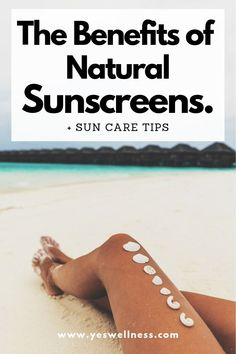 The Benefits of Natural Sunscreens + Suncare Tips - Protection Solaire Homemade Skin Care, Diy Skin Care, Skin Care Tips, Homemade Facials, Organic Skin Care, Natural Skin Care, Dark Spots On Skin, How To Apply Concealer, Natural Sunscreen