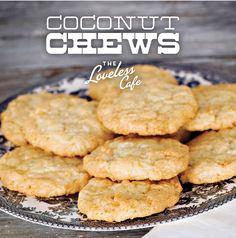 Coconut Chews from Loveless Cafe in Nashville