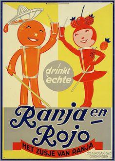 Vintage dutch ad. Ranja
