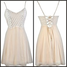 This beige tie back dress has a flowy cut:  http://ss1.us/a/oN4DCHy1