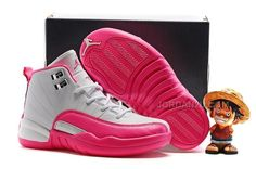 "78ca1f6a97fb Find Kids Air Jordan 12 ""Vivid Pink"" 2016 For Sale online or in  Pumarihanna. Shop Top Brands and the latest styles Kids Air Jordan 12  ""Vivid Pink"" 2016 For ..."