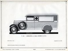 Licorne C. S. W 4 Ambulance, c. 1931