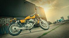 SR400 'Stallion & Bronco' by KEDO Yamaha Motor Europe