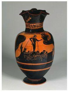 Amphora featuring Ulysse