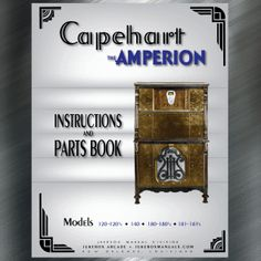 Printed Jukebox Manuals - Jukebox Arcade  Capehart Amperion