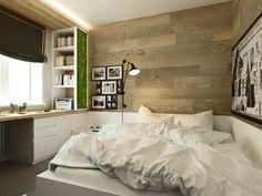 спальня в дизайн-проекте 3-комнатной квартиры