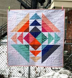 Last year, Shannon from sf Designs launched her Spring is in the Air quilt pattern and I almost immediately purchased a copy - baby quilts ...
