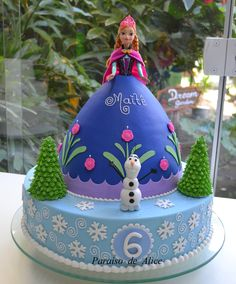 Bolo Frozen / Frozen cake