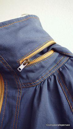 Minoru jacket by verypurpleperson, via Flickr