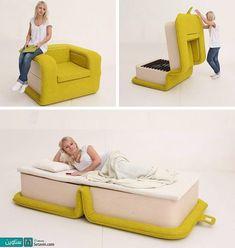 صندلی راحتی تخت خواب شو
