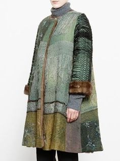 By Walid Antique Chinese Textile Coat - Browns - Farfetch.com