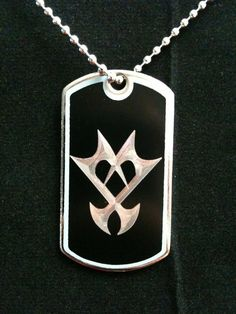 Unversed Dog Tag by Amber Sunset ($10)