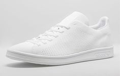 "New School version of an Old School Classic. Adidas Stan Smith Primeknit ""Triple White"". Right now only sold in Europe 10/2015"