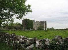 Rathcline Castle, Lanesborough, Co. A medieval tower house, enlarged in the early century, now forms a vast ruin. Looks impressive but is only one wall thick. Medieval Tower, Tower House, Castle Ruins, Emerald Isle, Hotels And Resorts, Countryside, Monument Valley, Mount Rushmore, Ireland