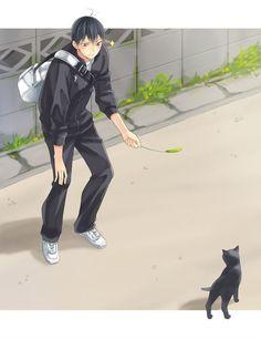 Kageyama X Hinata, Haikyuu Karasuno, Nishinoya, Haikyuu Manga, Haikyuu Fanart, Daisuga, Kuroken, Kagehina, Volleyball