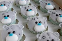 Poor, cute little teddybear cupcakes Cupcake Tier, Cupcake Art, Cupcake Cookies, Cupcakes Design, Bear Cupcakes, Cute Cupcakes, Tatty Teddy, Baby Shower Cakes Pictures, Tolle Cupcakes