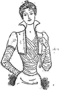 A DAINTY EVENING DRESS. (Auckland Star, 08 July 1899)