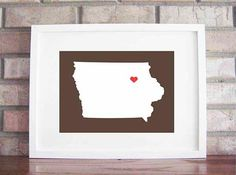 DIY on canvas for the living room . . . Or in white and red for the guest room