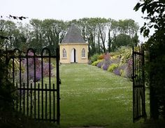 Shell House & Garden, Ballymaloe Cookery School, Shanagarry, Co. Cork, Ireland.
